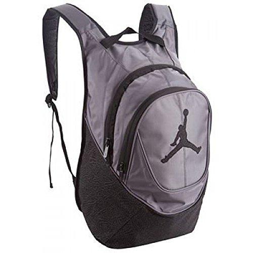 "Nike Air Jordan Ele-mentary Backpack for 15"" Laptop in Black and Gray Elephant"