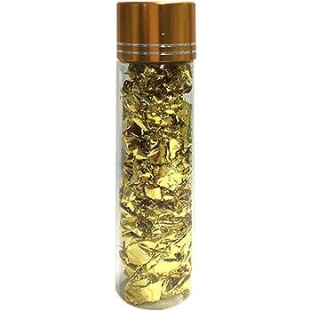 24 Karat Blattgold Essbare Lebensmittel Dekorfolie,essbares Blattgold Metallflocken Küche Mousse Kuchen Backen Gebäck Kunsthandwerk Decor, 20 Gramm