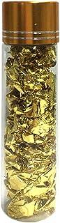 رقائق من الذهب عيار 24 قيراط صالحة للاكل من جولكسي مناسبة لتزيين الطعام وكيك الموس والمخبوزات