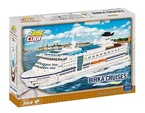 Juminox COBI 01944 Birka Cruises Kreuzfahrtschiff Schiff Konstruktionsspielzeug Bauklötzen Bausteine + Mauspad Gratis