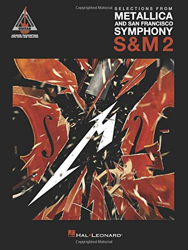 Selections from Metallica and San Francisco Symphony: Guitar Recorded Versions Authentic Transcriptions in Notes & Tabの詳細を見る