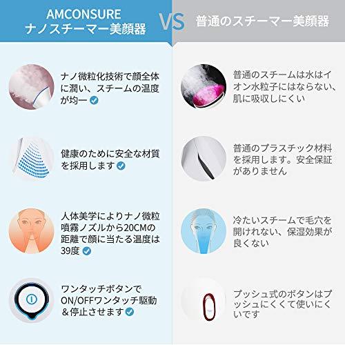 Amconsure『スチーマー美顔器』