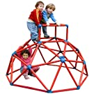 RMS Toy_MB_TOP_RED - Monkey Bar Klettergerüst, GS-geprüft, rot
