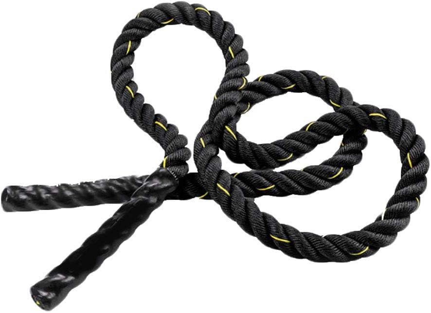 FRIDG Heavy Jump Rope Skipping Rope Workout Battle Ropes for Men