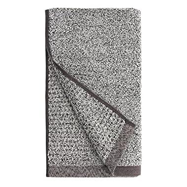 Everplush 710-01-03-72-4P Diamond Jacquard Quick Dry Hand Towel Set, 16  x 30 , Gray