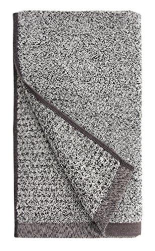 Everplush Diamond Jacquard Quick Dry Hand Towel Set, 4 x (16 x 30 in), Grey, 4 Piece