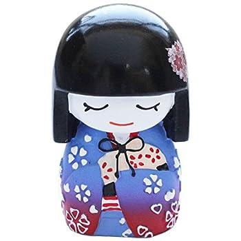 N&N Find Japan Japanese Mai Kokeshi Doll Purple