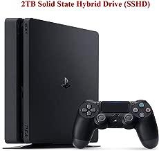 NexiGo Playstation 4 Slim PS4 2TB SSHD Console with Dualshock 4 Wireless Controller