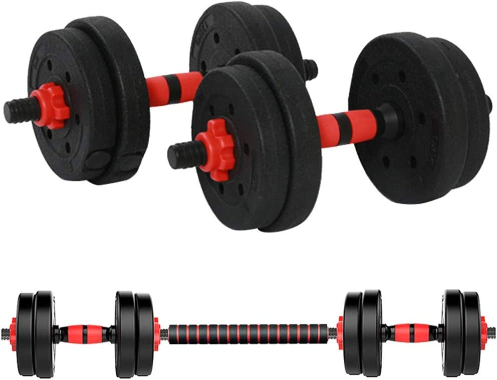 3-in-1 Hand Weights 4.4lb Set of 2 Adjustable Dumbbell Weight Pair Set