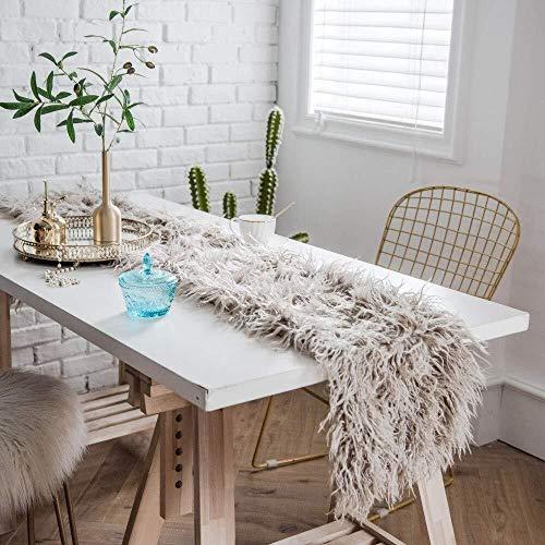 ZQ Tafelloper Lana Runner Table Merce Beach wol voor de decoratie van het huis