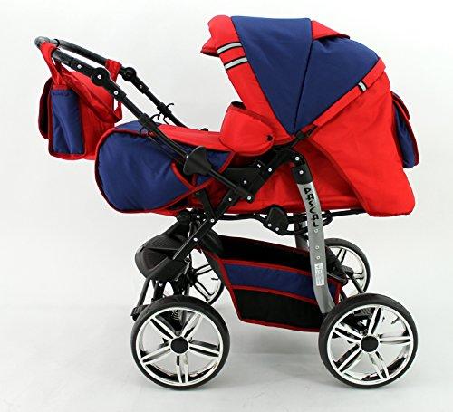 Kombi Kinderwagen Travel System Pascal 2in1 Kinderwagen Buggy Stroller Poussette (22)