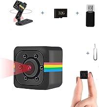 Mini Camera Wireless 1080P HD Camera, Sensor car DVR Smart Home Security Camera Small Camera Support TF Card Built-in Battery Night Vision Mobile Monitoring