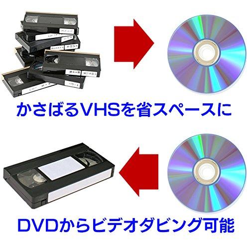 『DXアンテナ ビデオ一体型DVDレコーダー VHSビデオをダビングできるDVDレコーダー DVC2015』の5枚目の画像
