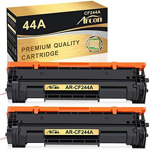 Arcon Kompatibel 44A CF244A Toner Cartridge Replacement für HP 44A HP CF244A (MIT CHIP) Toner für HP Laserjet Pro M15w HP Laserjet Pro MFP M28w Pro M15a M16a M16w M28a MFP M29w M29a Drucker(2 Schwarz)