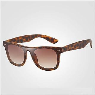 ZMP Ultra-Light Unisex Sunglasses Trend Full Frame Lens Colorful Sunglasses UV400 (Color : Red)