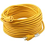 Epicord 14/3 Extension Cord Outdoor Extension Cord (25 ft) Yellow heavy duty extension cord
