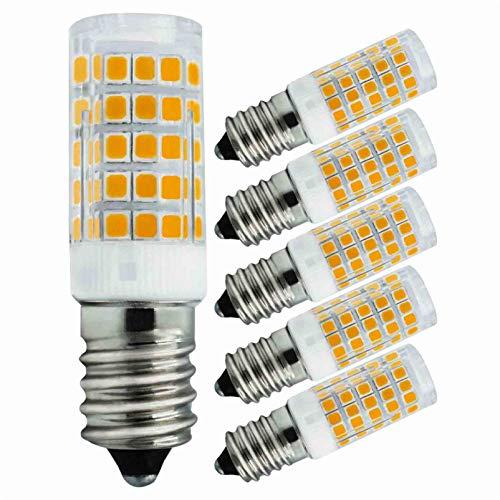 5er Pack E14 LED Lampe 4w Ersetzt 40W Warmweiß 220V 230V 3000K 430Lumen Schlafzimmer Wandleuchte Wohnzimmer Kronleuchter Klein Leuchtmittel [MEHRWEG]