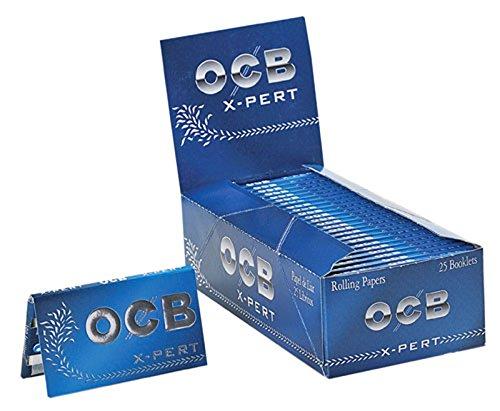 OCB X-Pert Azul 25 librillos de papel de fumar