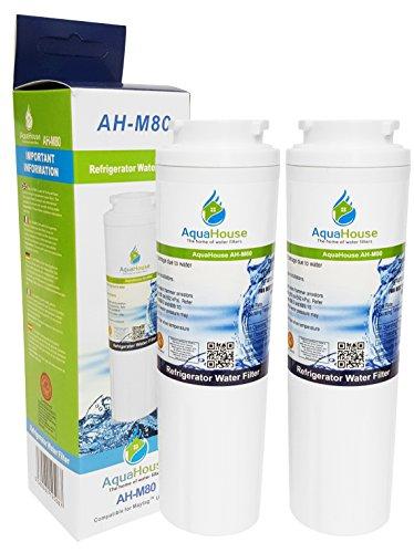 2x AH-M80 kompatibel für Maytag UKF8001 Wasserfilter, UKF8001AXX, Puriclean II PUR, Amana, Admiral, KitchenAid, Kenmore, Kühlschrank Filter