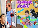Our Neighbor Broke Into Our House! Trespassing Problems Plus Puppy Takes Shawn's Toy