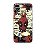 Estuche para iPhone 7 Plus/8 Plus Marvel Deadpool Original con Licencia Oficial, Carcasa, Funda,...