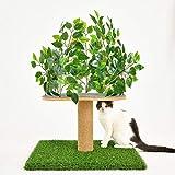 YMGW Katzenmöbel mit Sisal-Seil Spielhaus Spielzeug für Katzen, Kratzbrett Katzenbaum Kratzbaum...