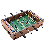 MOVKZACV Mesa futbolín, mini futbolín, juego de mesa de fútbol para niños, mesa de fútbol para noche de juego familiar, sala de juegos, bares, fiestas