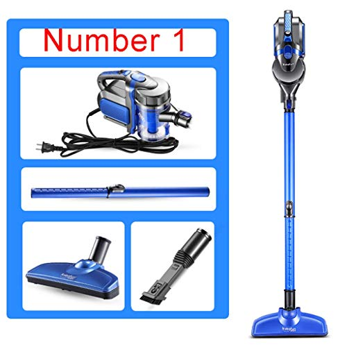 Best Bargain BBG Household Goods,600W 2-in-1 Rotary Vacuum Cleaner - Hepa Filtration System - with S...