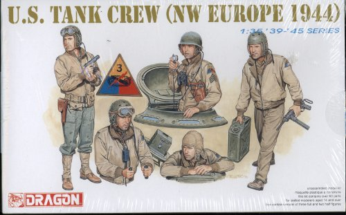 Price comparison product image U.S. Tank Crew (NW Europe 1944) 1:35 Scale '39-'45 Series