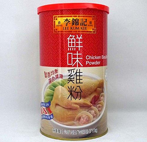 李錦記 鮮味鶏粉 1kg 1本 缶 チキンパウダー 中華 調味料 業務用