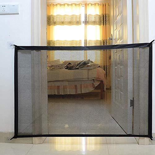 YYF Robuster Türstopper, isolierende Tür, blendfrei, perforiert, für den Innenbereich, Haustier, Schlafzimmer, Tür, Zaun, Balkonzaun, barrierefrei, Isolierungsnetz, Stoff, 180cmx75cm