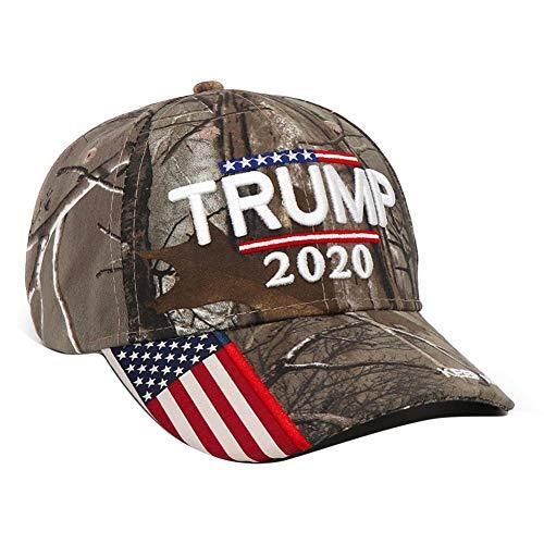 Goodtimera Baseball Cap, Unisex Baseball Kappen Baseball-Mütze Trump 2020, US-Präsidentschaftswahl, Bestickte 3D-Trump Cap für Männer, Frauen
