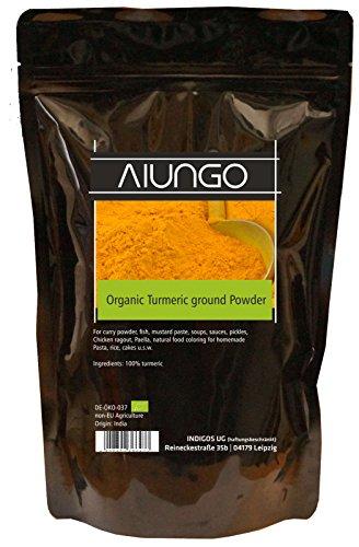 Viungo® Greenline - BIO-Kurkuma - Kurkumawurzel gemahlen - 1000g - Bio Kurkuma Pulver für Ihre Gesundheit