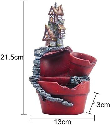 Amazon.com: Maceta de jardín creativa con micro paisajes ...