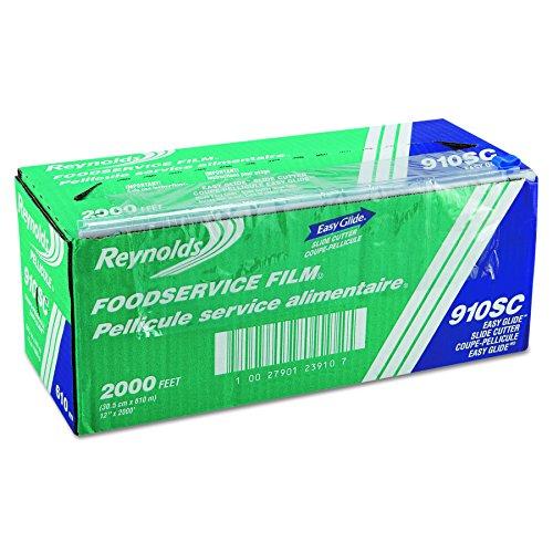 Reynolds 910SC 2000' Length x 12' Width, PVC Slide Cut Food Wrap Film
