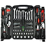 KINGORIGIN 95 Piece Home Repair Tool Kits,Multi Tools Set, Homeowner...