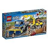 LEGO- City Great Vehicles Spazzatrice ed Escavatore, 60152