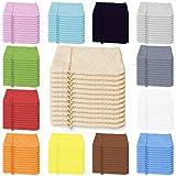 12er Pack Waschhandschuhe aus Baumwolle