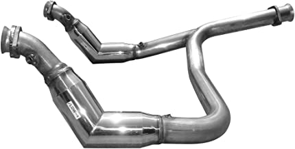 E43145RL High Flow Catless Crossover pipe for 2011-2014 Ecoboost F150 V6 3.5L Twin Turbo by Solo Performance Compatible with Ford F150
