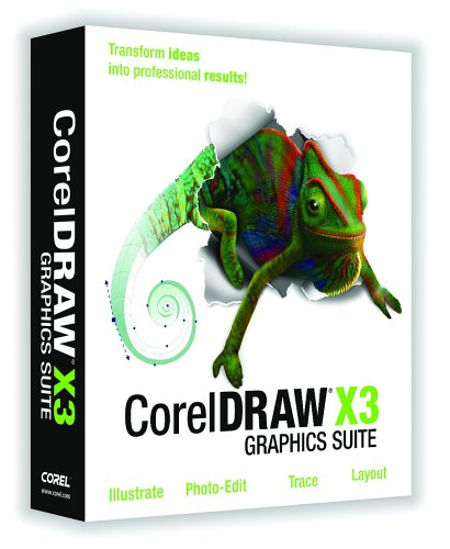 Corel Draw Graphics Suite x3 EDU dt. CD
