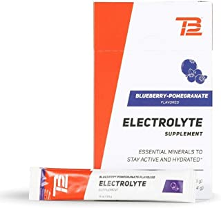 TB12 Electrolyte Powder | Powder Packets for Hydration, 15-Count Stickpacks, Refreshing Drink Mix - Gluten-Free, Dairy-Fre...