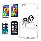 Reifen-Markt Hard Cover - Funda para teléfono móvil Compatible con Samsung Galaxy S3 Mini Perro Fornido CRIANZA CASA Perros Perrera DE CRIADORES DE Perrito Cuidado