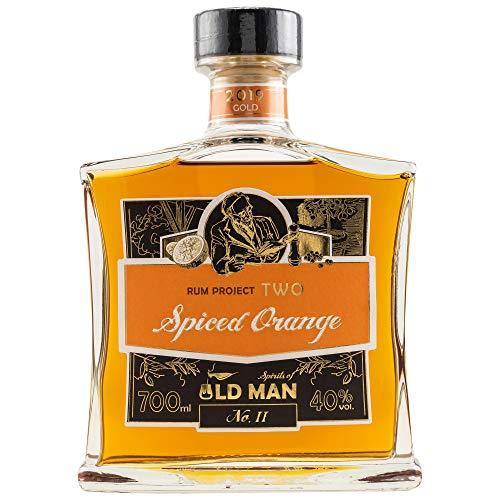 West Cork Old Man Rum Project Two - Spiced Orange | 1x0.7L | Rum aus der Karibik | Fruchtig-pfeffrig