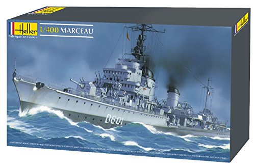 Heller 81009 - Modellino da Costruire, Nave Militare Marceau, Scala 1:400 [Importato da Francia]