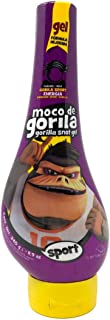 Moco De Gorila Sport Hair Gel   Energizing Hair Styling Gel for Extreme Long Lasting Hold, Gorilla Snot Gel is Ultimate Hair Gel to Energize any Hairstyle; 11.9 Ounces Squizz Bottle