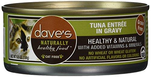 Dave's Pet Food Tuna Entrée Food