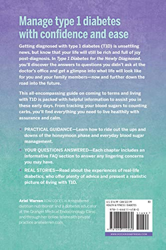 buy  Type 1 Diabetes for the Newly Diagnosed: What to ... Administration and Medicine Economics