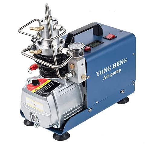 Yong Heng High Pressure Air Compressor Pump, 30Mpa 110V Electric Air Pump PCP Air Compressor for Airgun Scuba Rifle