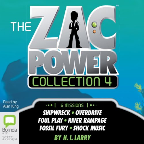 The Zac Power Collection 4 cover art