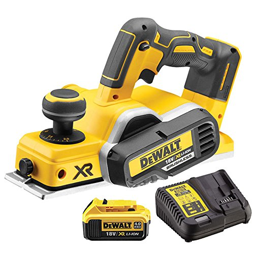 Dewalt DCP580N XR Brushless 18V Cordless Planer with 1 x 5.0Ah Battery & Charger 1 Lithium ion batteries